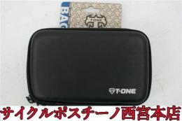【11P7669】T-ONE SOLID BLACK BG-TO-009 フロントバッグ 未使用品