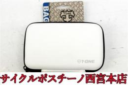 【11P7668】T-ONE SOLID WHITE BG-TO-010 フロントバッグ 未使用品
