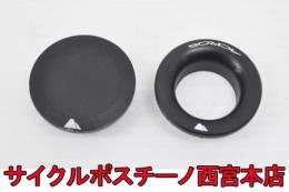 "【20P398】CANYON ステムキャップ 1-1/4"" 2個 中古品"