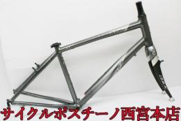 【FR3689】CANNONDALE QUICK 4 700C アルミフレームセット 中古品