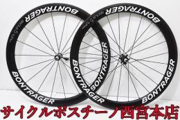 【A4719】BONTRAGER aeolus 5 TLR 700C 前後カーボンホイール 中古品